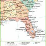 Map Of Alabama, Georgia And Florida   Florida North Map