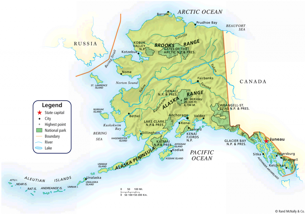 Map Of Alaska | Alaska Political Map Map Tools Print Pdf Zoom | Jb's - Printable Map Of Alaska