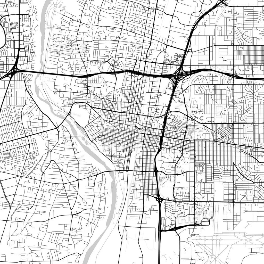 Map Of Albuquerque, New Mexico   Hebstreits Sketches - Printable Map Of Albuquerque