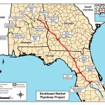 Map Of All Three Pipelines, In Notice Of Intent,ferc, For   Florida Gas Pipeline Map