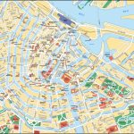 Map Of Amsterdam Tourist Attractions, Sightseeing & Tourist Tour   Printable Map Of Amsterdam