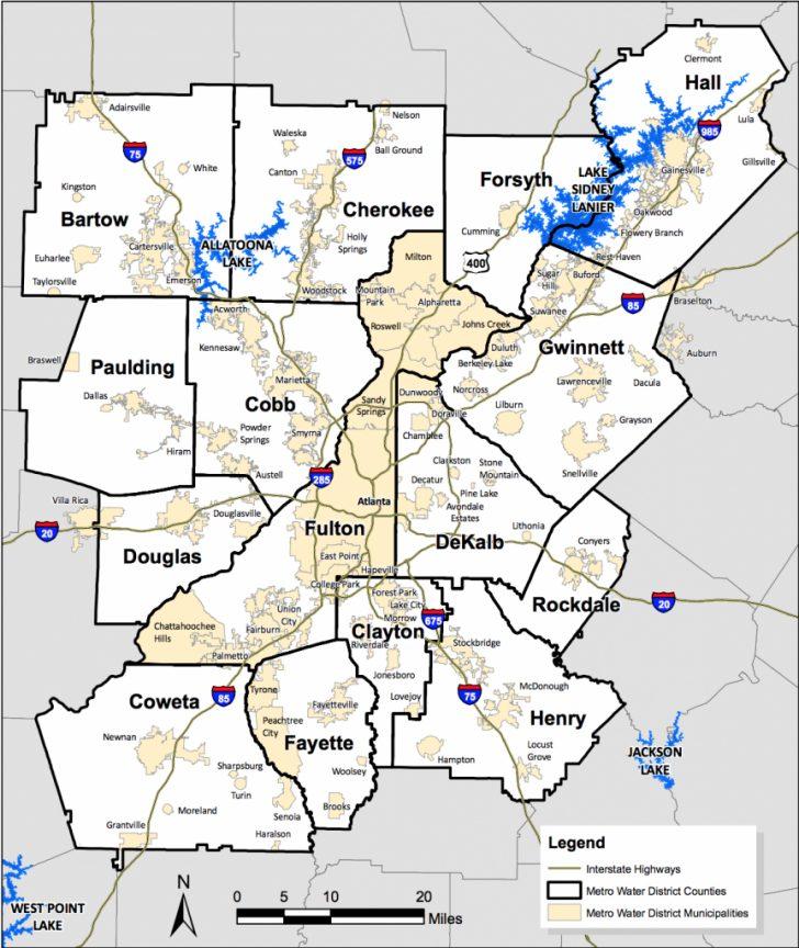 Atlanta Texas Map