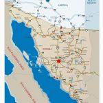 Map Of Baja California Norte | Secretmuseum - Baja California Norte Map