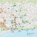 Map Of Barcelona Tourist Attractions, Sightseeing & Tourist Tour   Barcelona Tourist Map Printable