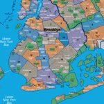 Map Of Brooklyn Neighborhoods   Printable Map Of Brooklyn