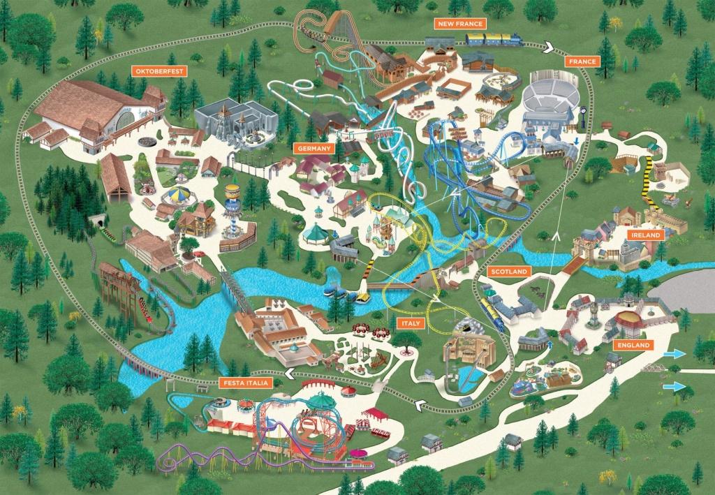 Map Of Busch Gardens Tampa | Vueaz - Florida Busch Gardens Map