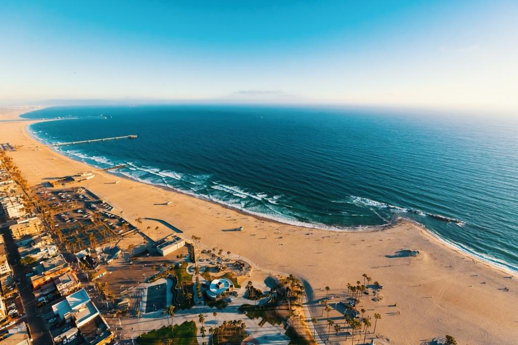 Map Of California Beaches - Southern California Beach Towns Map