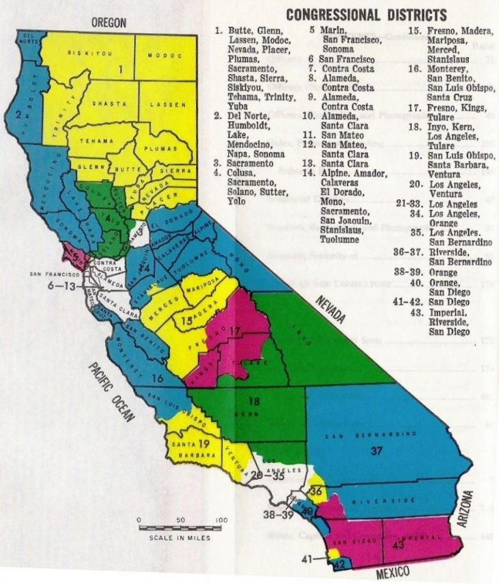 California 25Th District Map