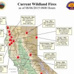Map Of California Fires Currently Burning | Compressportnederland   Northern California Wildfire Map