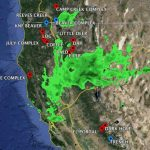 Map Of California. Map Of Current Fires In Northern California   Northern California Weather Map