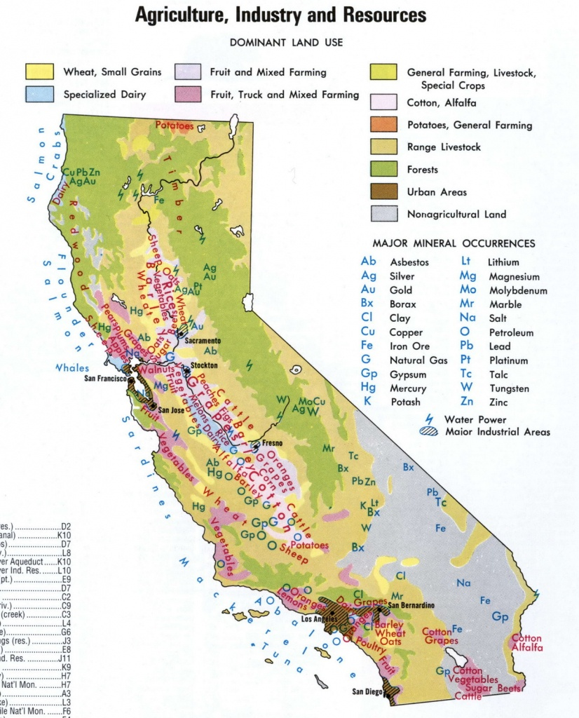Map Of California National Parks And Monuments And Travel - Map Of California National Parks And Monuments