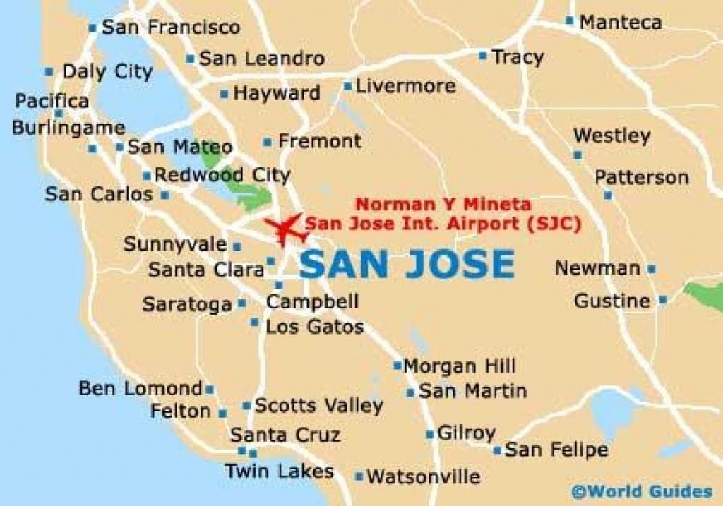 Map Of California Near San Jose – Map Of Usa District - San Jose California Map
