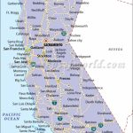 Map Of California With Cities California Map With Cities Northern - Map Of California Coast Cities