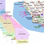Map Of Central California Coast Towns – Map Of Usa District - Central Coast California Map