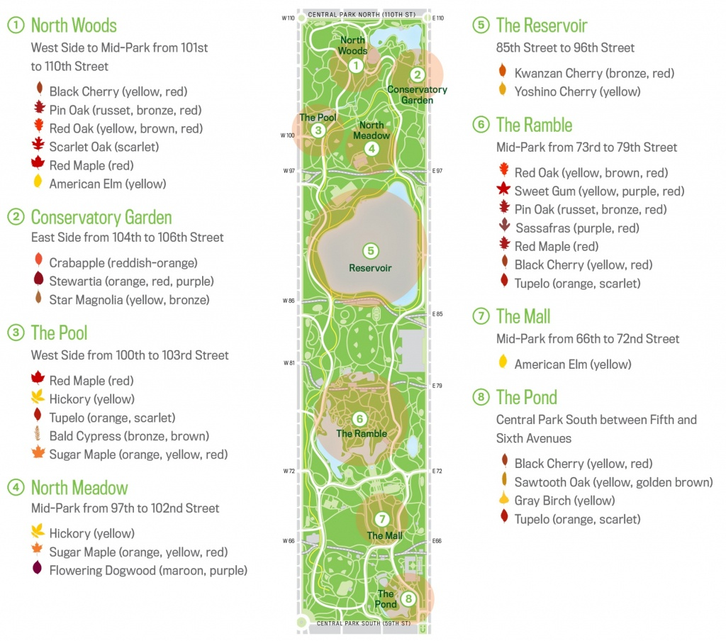 Map Of Central Park New Your City Central Park Zoo Attraction Free - Printable Map Of Central Park Nyc