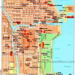 Map Of Chicago Attractions | Dehazelmuis   Map Of Chicago Attractions Printable
