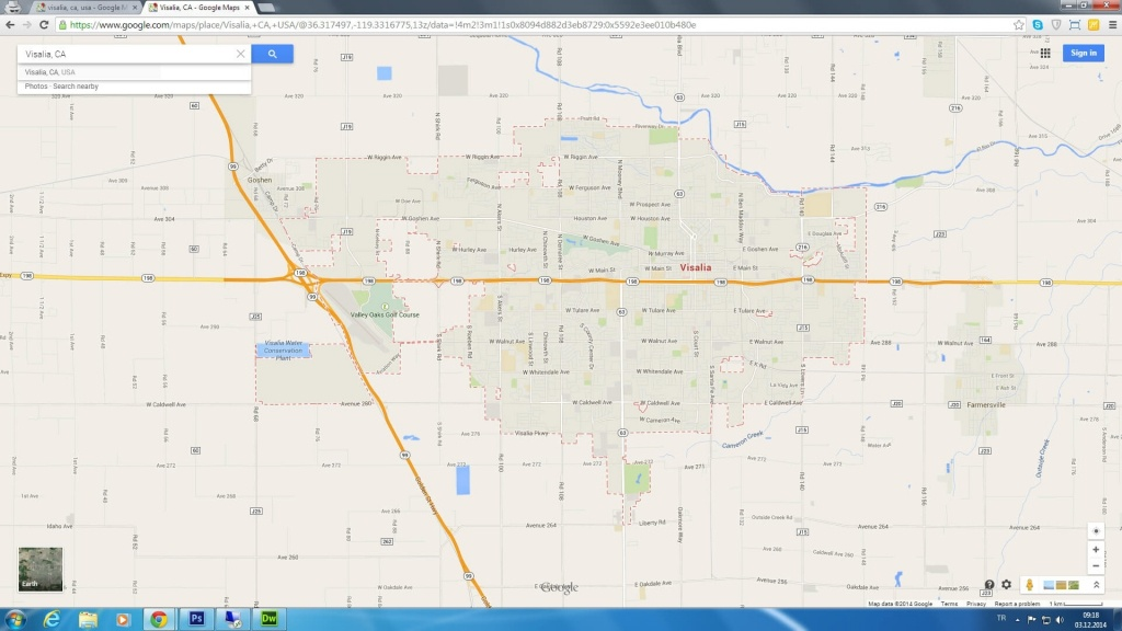 Map Of Cities Near Visalia California – Map Of Usa District - Visalia California Map