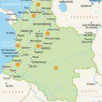 Map Of Colombia | Colombia Regions | Rough Guides | Rough Guides   Printable Map Of Colombia