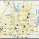 Map Of Dfw Metroplex Cities - Maps : Resume Examples #jel3Jq82Ng - Printable Map Of Dfw Metroplex