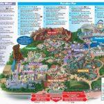 Map Of Disney California Adventure Park | Secretmuseum - California Adventure Map