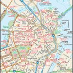 Map Of Downtown Boston   Downtown Boston Street Map   Places   Boston Tourist Map Printable