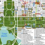 Map Of Downtown Washington Dc Printable And Travel Information   Printable Map Of Downtown Dc