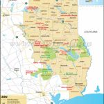 Map Of East Texas, East Texas Map   East Texas Lakes Map