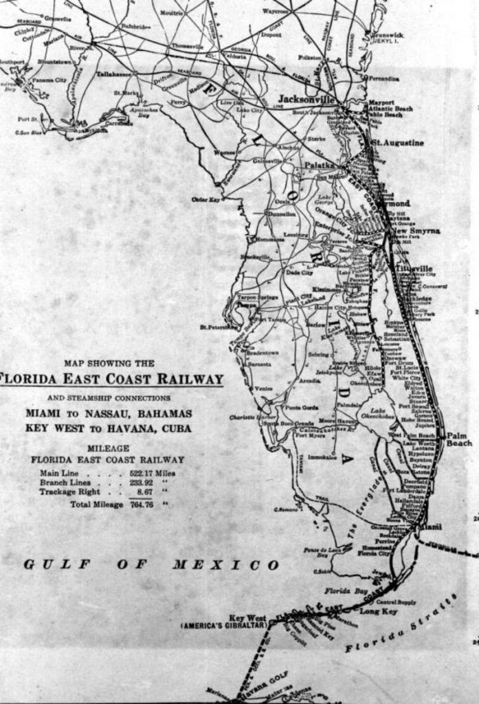 Map Of Eastern Florida Beaches And Travel Information | Download - Map Of Eastern Florida Beaches