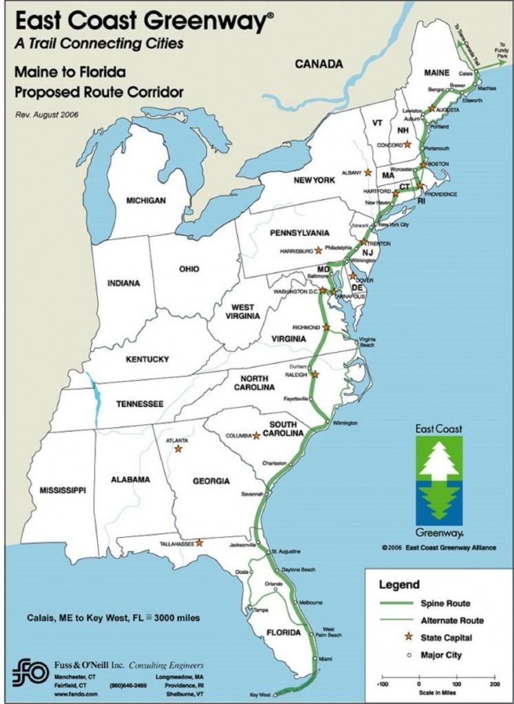 Map Of Eastern Florida Coastline Simple Us Map East Coast Beaches - Map Of Eastern Florida Beaches