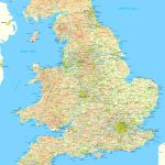 Map Of England And Wales - Printable Map Of England With Towns And Cities