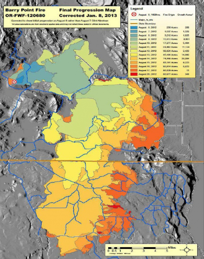 Map Of Fires Oregon California – Map Of Usa District - Oregon California Fire Map