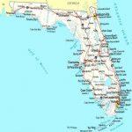 Map Of Florida Coastline   Lgq   Map Of Florida Coast Beaches
