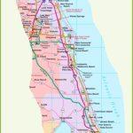 Map Of Florida East Coast   Map Of Florida East Coast