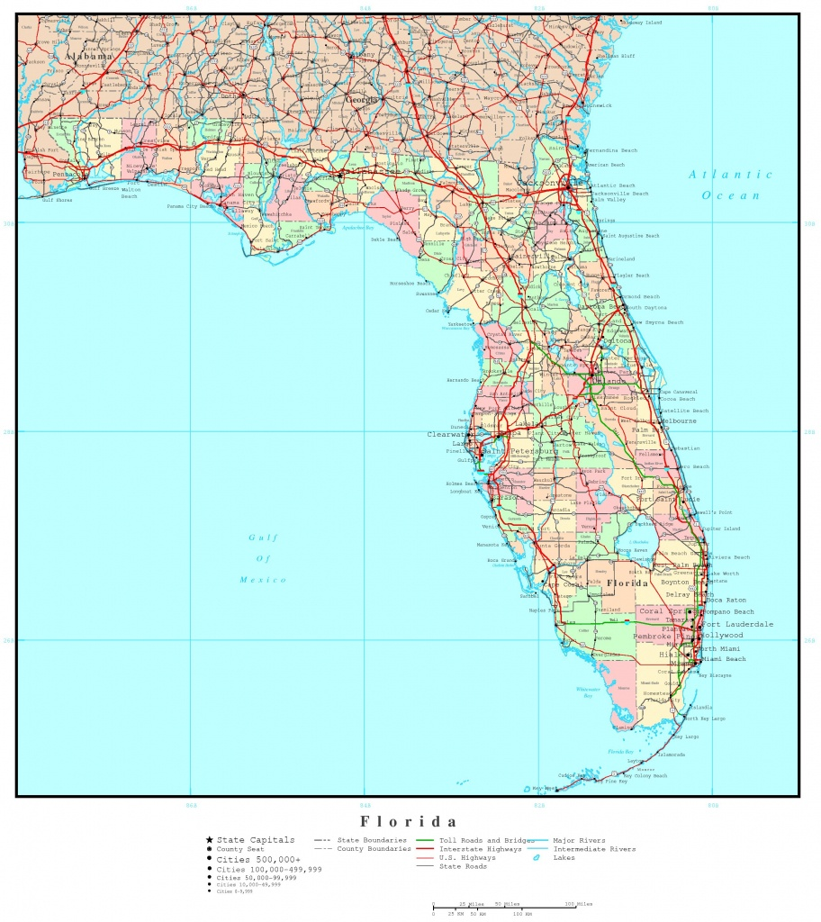 Map Of Florida Georgia And Travel Information   Download Free Map Of - Map Of Georgia And Florida