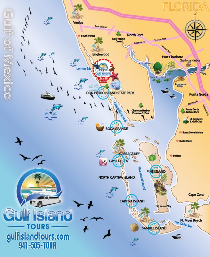 Sanibel Island Florida Map