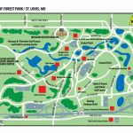 Map Of Forest Park In St. Louis, Missouri | St. Louis, Missouri - Forest Park St Louis Map Printable