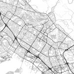 Map Of Fremont, California | Hebstreits Sketches   Fremont California Map