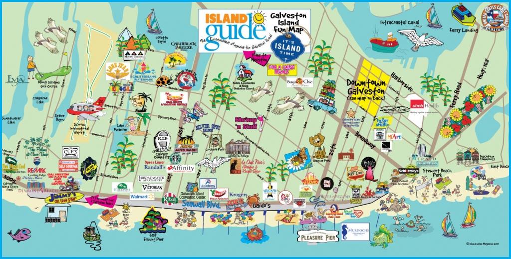 Map Of Galveston Island | Compressportnederland - Map Of Galveston Texas