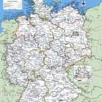 Map Of Germany With Cities And Towns | Traveling On In 2019   Printable Map Of Germany With Cities And Towns