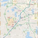 Map Of Greater Orlando: Interactive And Printable Maps | Wheretraveler   Printable Map Of Orlando