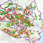 Map Of Houston's Flood Control Infrastructure Shows Areas In Need Of - Harris County Texas Flood Map