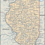 Map Of Illinois Counties   World Maps   Illinois County Map With Cities Printable