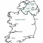 Map Of Ireland Coloring Page   Coloring Home   Printable Blank Map Of Ireland