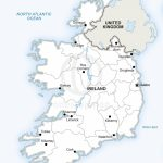 Map Of Ireland Political In 2019 | Maps Of Europe   Continent   Free Printable Map Of Ireland