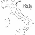 Map Of Italy | Print. Color. Fun! Free Printables, Coloring Pages   Printable Map Of Italy To Color