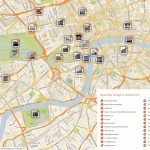 Map Of London With Must See Sights And Attractions. Free Printable   Printable Map Of London England