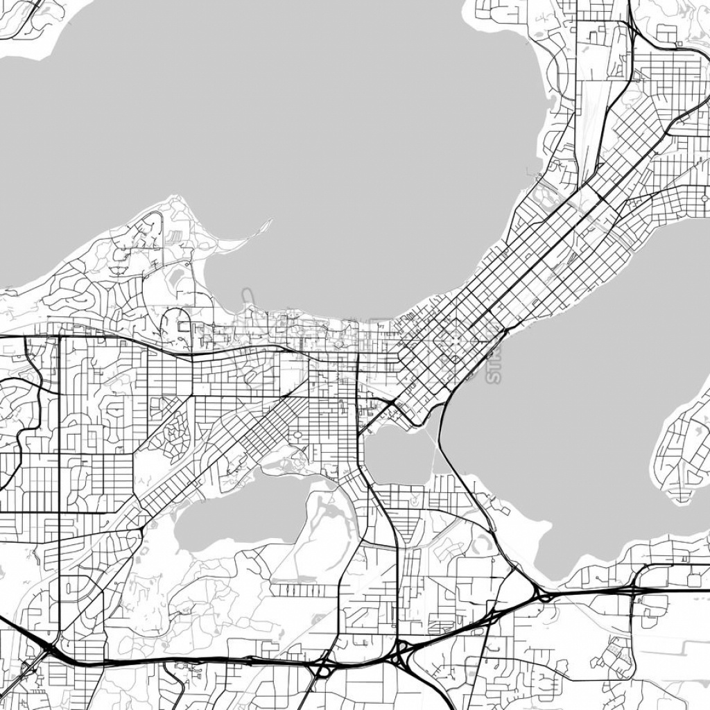 Map Of Madison, Wisconsin | Maps | Map, Urban Design Plan, Wisconsin - Printable Map Of Downtown Madison Wi