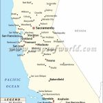 Map Of Major Cities Of California | Maps In 2019 | California Map   Map Of California Showing Cities