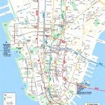 Map Of Manhattan Nyc And Travel Information | Download Free Map Of   Printable Map Of Manhattan Nyc