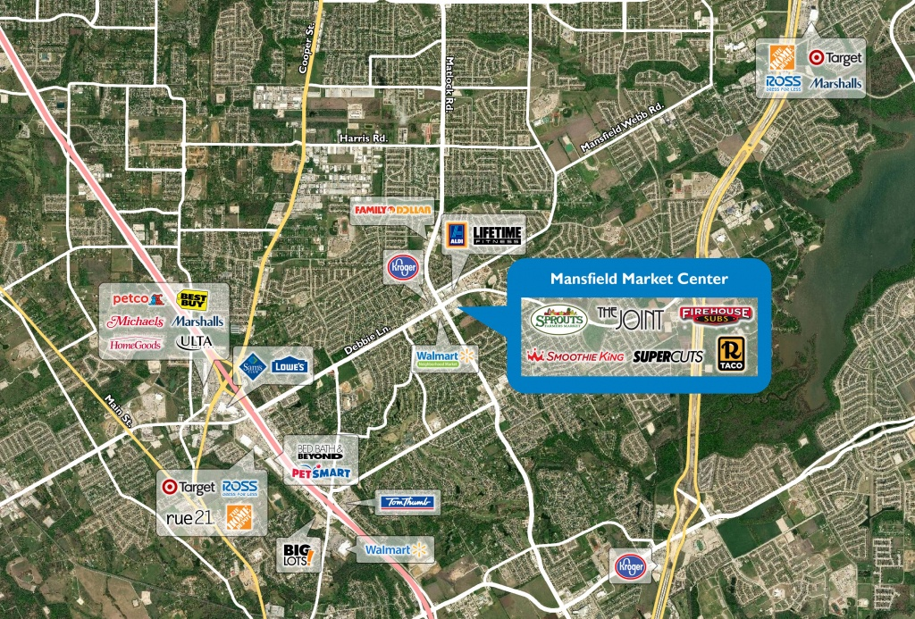 Map Of Mansfield Tx 76063 - Mansfield Texas Map